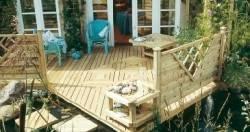 terrassen mit holz gestalten gestaltung. Black Bedroom Furniture Sets. Home Design Ideas