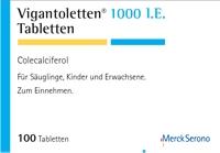 Vigantoletten 1000 i e warnhinweise und vorsichtsmaßnahmen