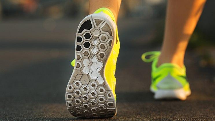 Walking - Füße richtig abrollen