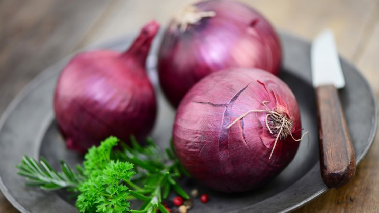 Zwiebel als hömoöpathisches Mittel gegen Schnupfen