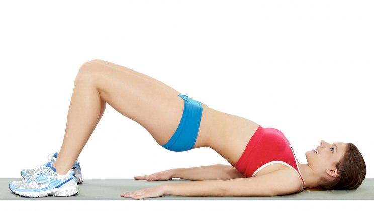 Training für Bauch, Beine, Po