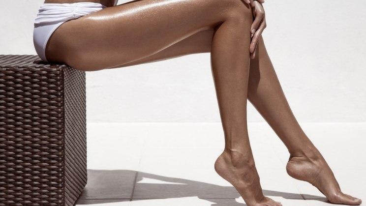 Beine werden nicht braun solarium