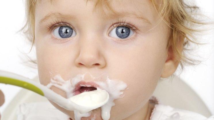 Joghurt enthält viel Eiweiß