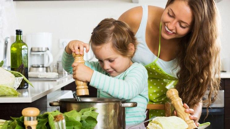 Gesunde Ernährung - Eltern sind Vorbilder