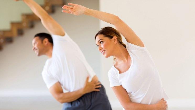 Fitness lässt sich auch zuhause trainieren!
