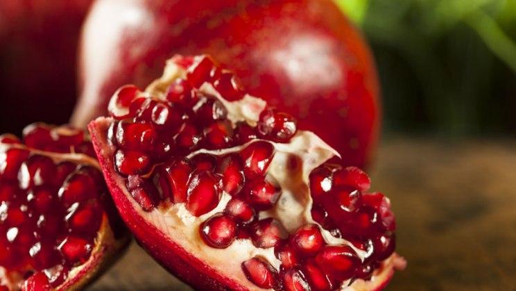 Granatäpfel schützen die Gefäße