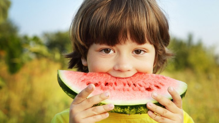 Kinder brauchen gesunde Snacks für zwischendurch