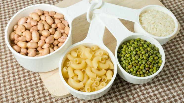 Gute Kohlenhydrate stecken in Reis oder Nudeln
