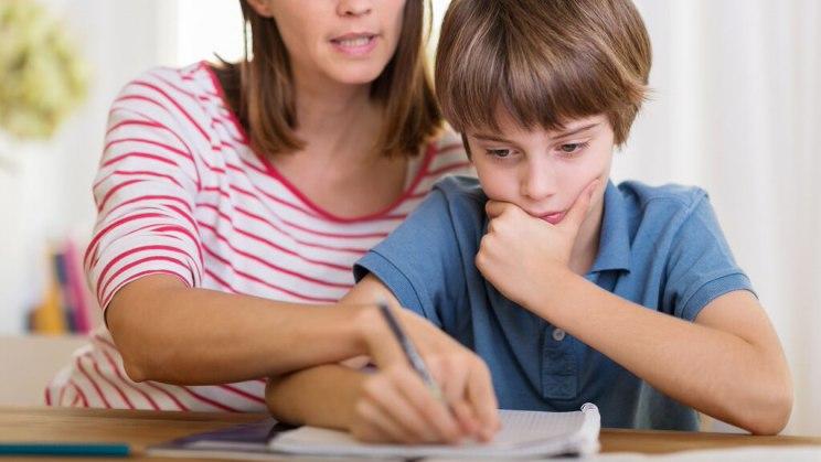 Hausaufgaben - der tägliche Kampf