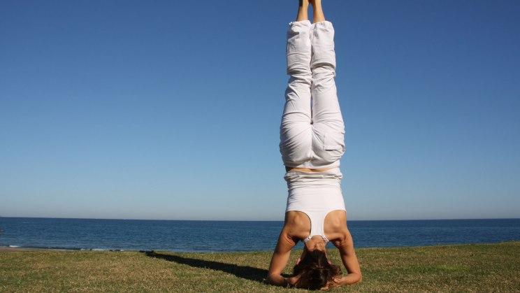 Yoga - Kerze ist nicht für blutige Anfänger