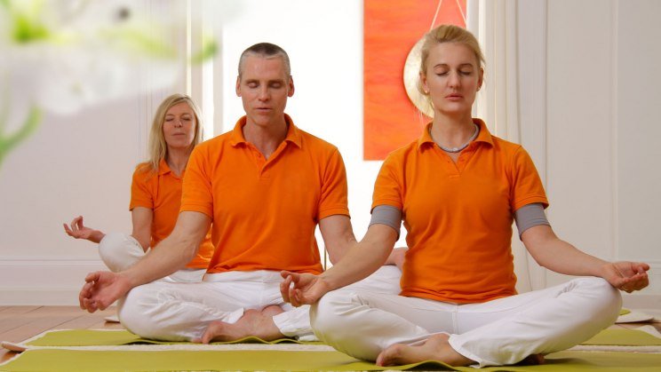 Yoga - den Lotussitz gibt es auch für Profis