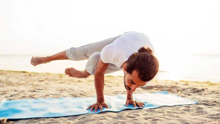 Yoga für Profis - manche Übungen sind nichts für Anfänger