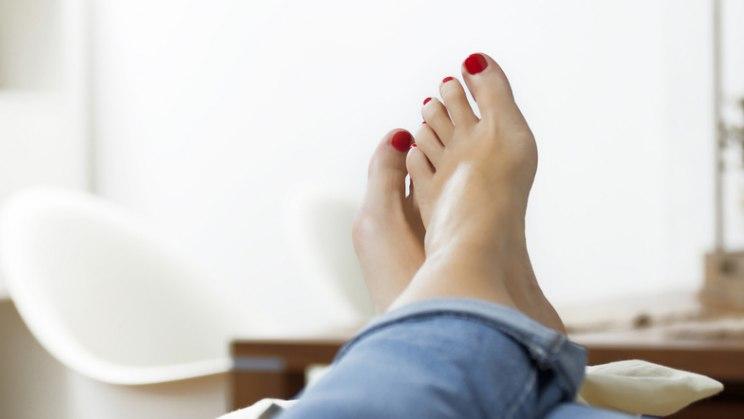 Beine Hoch Und Dildofick