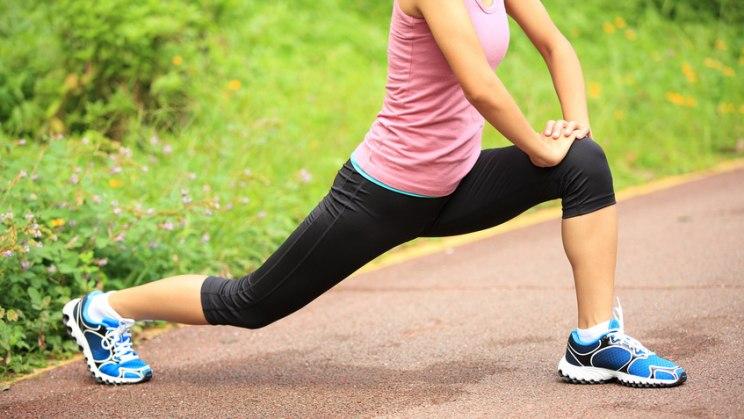 Frau beim Sport: Bewegung senkt den Blutdruck