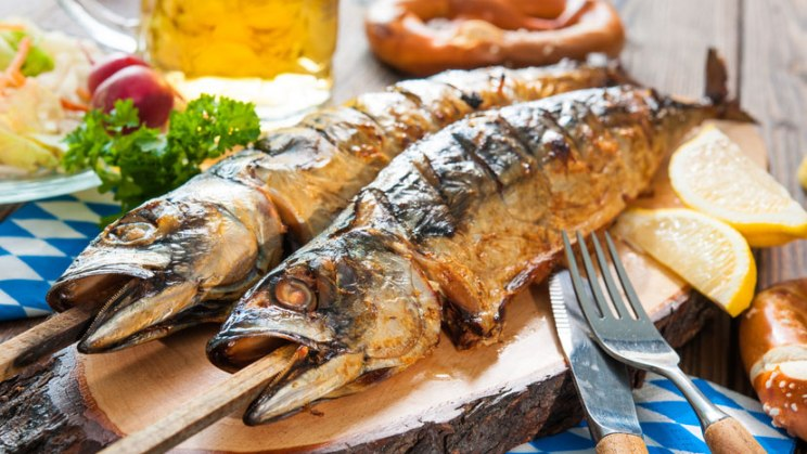 Gegrillte Markelen: Fetter Seefisch gilt als guter Vitamin-D-Lieferant