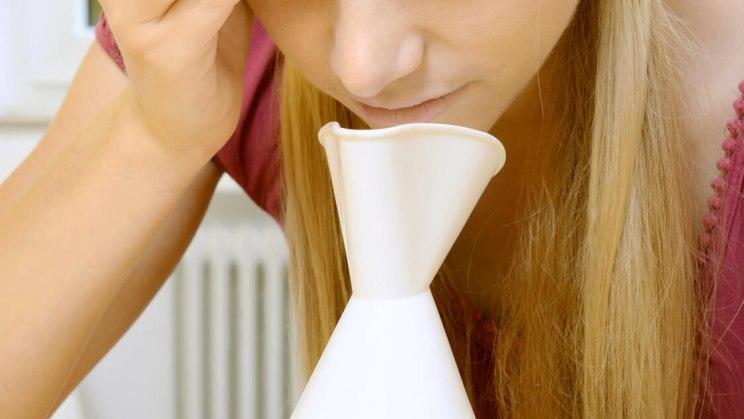 Inhalieren kann bei der Genesung im Winter unterstützen