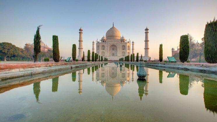 Der Taj Mahal wartet auf Sie: Denken Sie aber an die Impfungen für Indien.