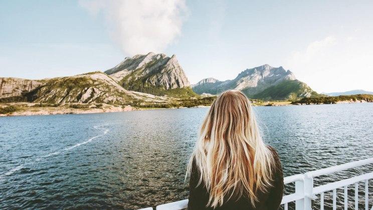An Bord eines Schiffs ist Reiseübelkeit keine Seltenheit.