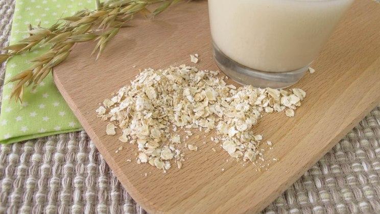 Hafermilch als veganer Milchersatz