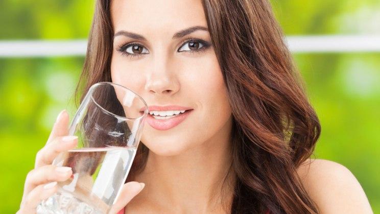 Blasenentzündung - viel trinken!