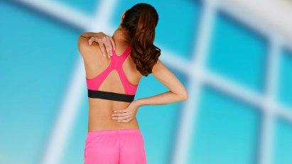Bandscheibenvorfall -  eine gut tranierte Muskulatur schützt