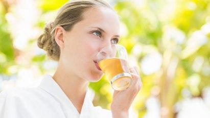 Tee trinken zur Entspannung