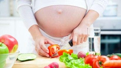 Gemüse und Salat sind in der Schwangerschaft unverzichtbar
