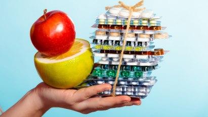 Manche Lebensmittel beeinträchtigen die Wirkung von Medikamenten
