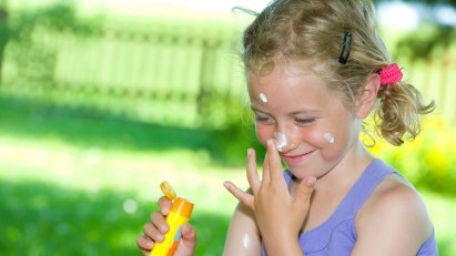 Naturkosmetik - Sonnenschutz auf Mineralienbasis