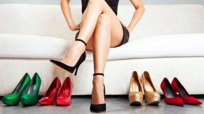 High Heels richten Schäden an den Füßen an