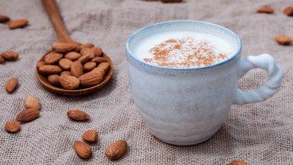 Milchfreie Ernährung - Mandelmilch als Ersatzprodukt