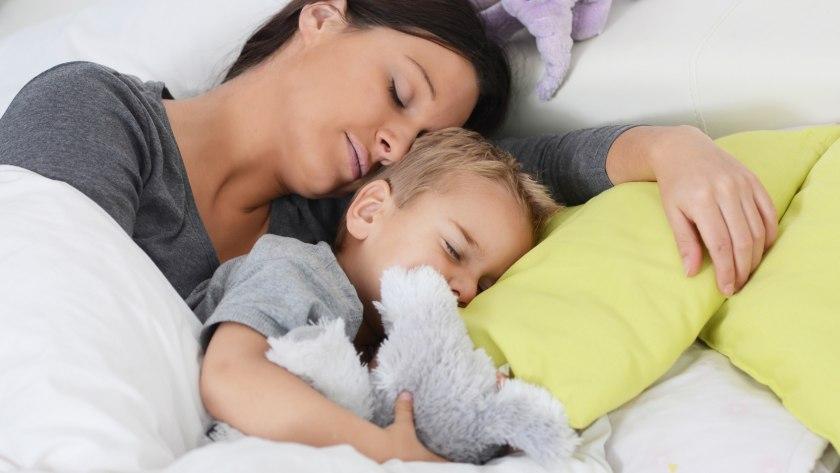 Kind im Elternbett - ja oder nein?