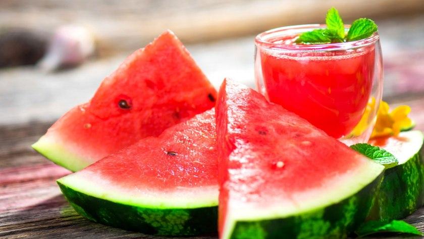 Wassermelone mit mittlerem GLYX
