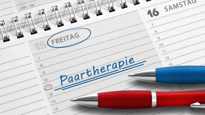 Kalendereintrag Paartherapie – eine mögliche Behandlung bei Erektiler Dysfunktion.